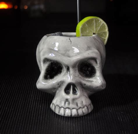 skull barware bloody skull cocktail mug by bespoke barware
