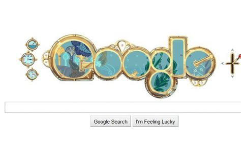 doodle daily mail doodle marks jules verne s 183rd birthday daily