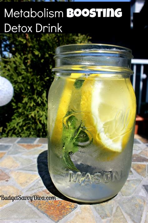 Detox Drink Recipes by Metabolism Boosting Detox Drink Recipe Budget Savvy