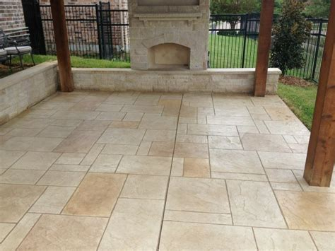 Shed Designs With Porch patio designs flagstone vs concrete texas best fence