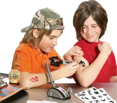 the junior tattoo parlor you know for kids technabob