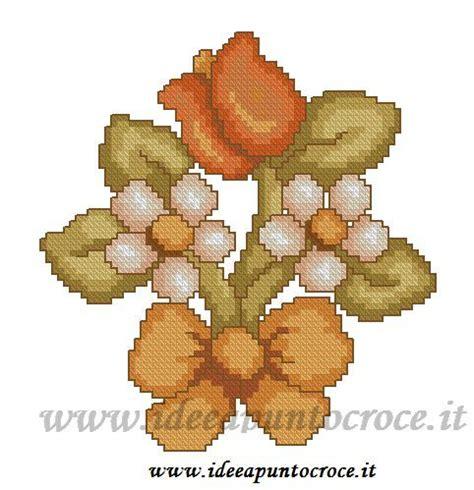 fiori thun fiori thun schema punto croce schemi thun