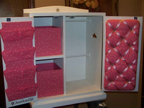 doll armoire for 18 inch dolls closet ideas for pretty wardrobe closet for american girl