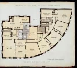 Building Floor Plans Nyc 10 Elaborate Floor Plans From Pre World War I New York