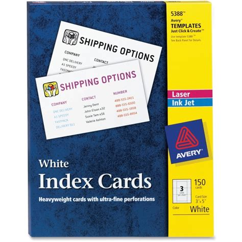 inkjet printable index cards printer
