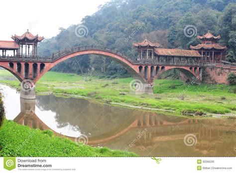 Chinese Ancient Bridge Stock Image Image Of River Bridge Traditional