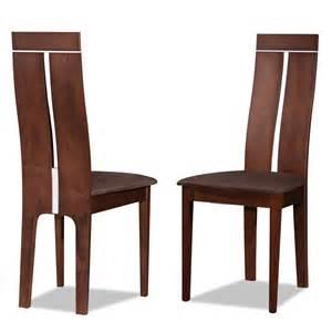 chaises en bois marron meilleures ventes boutique pour