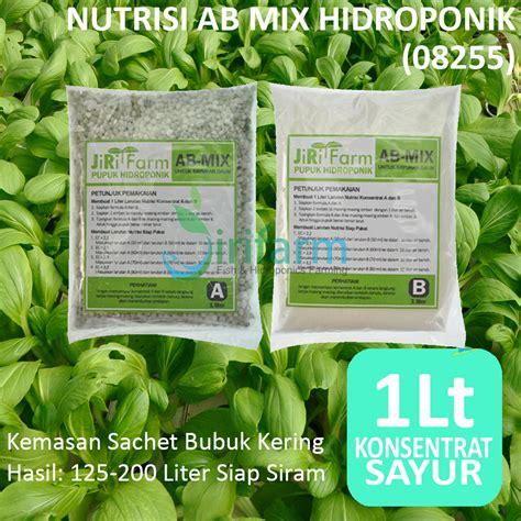 Jual Pupuk Hidroponik jual nutrisi hidroponik ab mix pupuk hidroponik a b mix