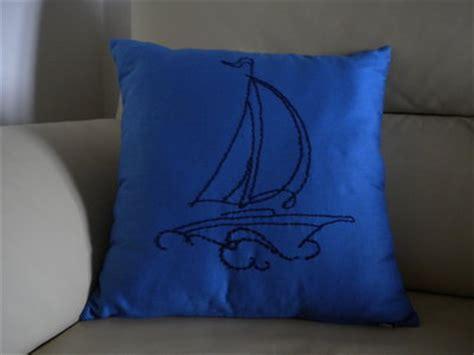 cuscini barca cuscino con barca vela per la casa e per te decorare