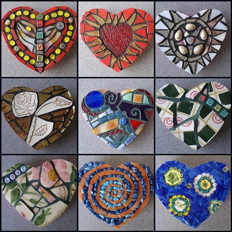 mosaic heart pattern 4256 best images about mosaic art on pinterest mosaic