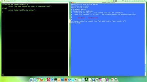 git tutorial merge conflict how to use git git video tutorial part 4 merge