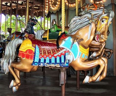 what side does the st go on where have the carousel animals gone antique merry go