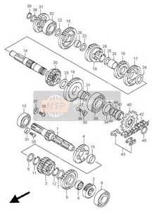 2001 Suzuki Rm125 Parts Suzuki Rm125 2001 Transmission Msp