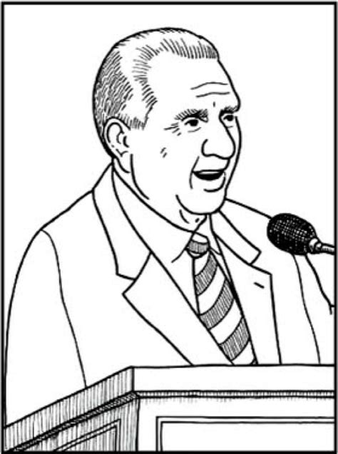 president thomas s monson coloring page ideas sud