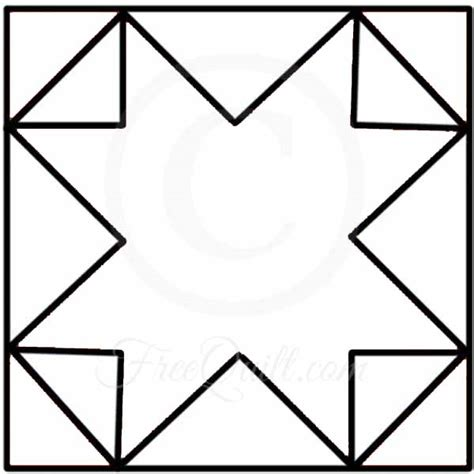 printable star quilt template ohio star quilt pattern to print