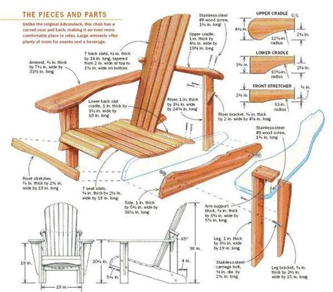 free adirondack chair plans templates how to building free woodworking plans adirondack