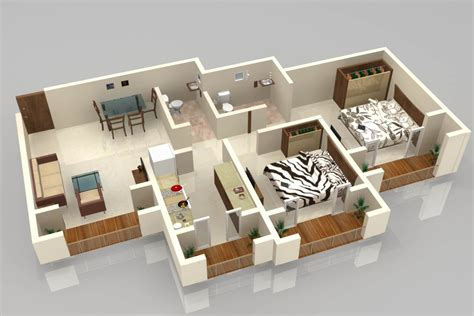Floor Plan In 3d | individual house for sale in edayarpalayam thadagam road