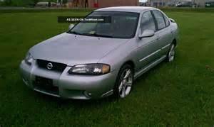 Nissan Sentra Se R 2002 2002 Nissan Sentra Se R Spec V 2 5 Liter 6 Speed Manual