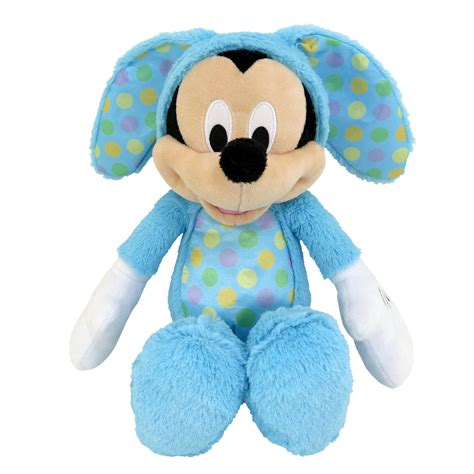 mickey easter disney easter mickey mouse in bunny suit seasonal