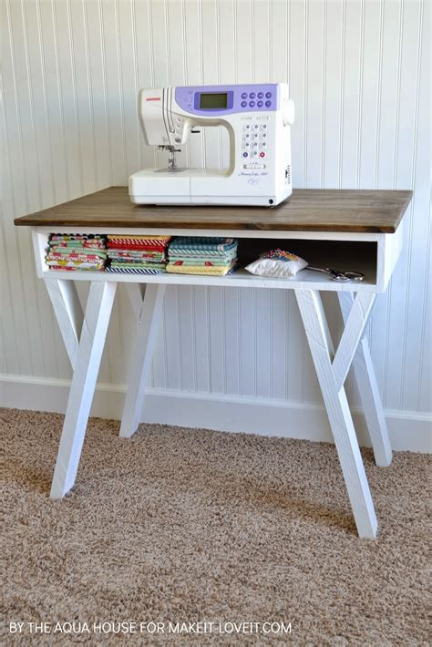 Diy Desk With Storage Diy Farmhouse Modern Desk With Open Front Storage Cubby Make It And It