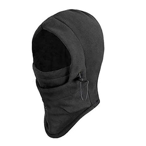 Balaclava Polar Masker Thermal 6 In 1 Multifungsi 6 in 1 thermal fleece balaclava swat ski bike