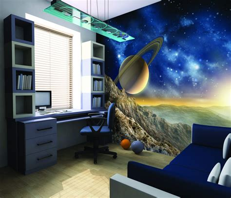 Galaxy Bedroom Wallpaper Uk Galaxy Wallpaper Mural Kool Rooms For Kool