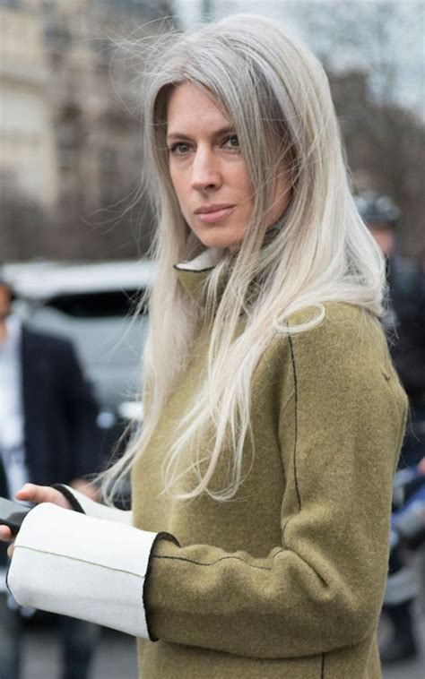 best going out hairstyles how to go grey gracefully