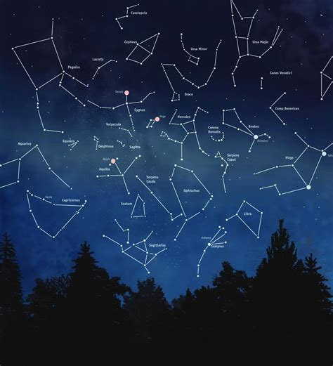 constellations map stargazing touring the sky explore magazine