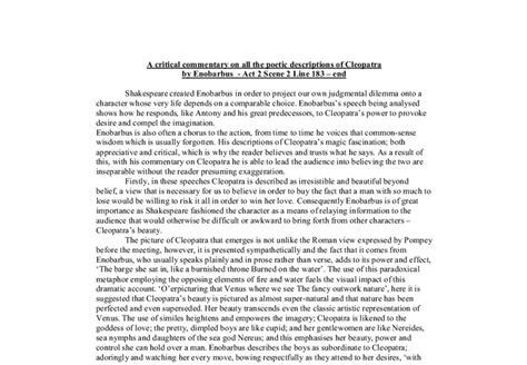 Antony And Cleopatra Essay by Antony And Cleopatra Essay Writinggroup782 Web Fc2