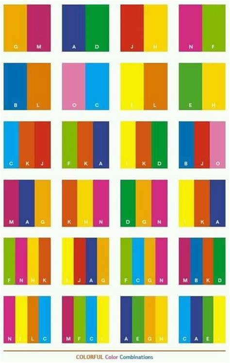 best two color combinations kombinasi warna yang cocok untuk desain dan pakaian pena