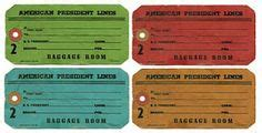 printable luggage tickets 1000 images about travel theme party ideas on pinterest