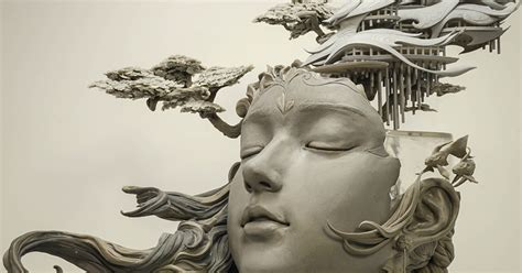chinese artist creates stunning sculpture reimagining