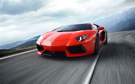 Lamborghini In Lamborghini Aventador In Movement Wallpapers And Images