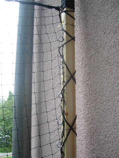hängematte am balkon befestigen katzennetz installation f 252 r dummies ohne bohren ohne
