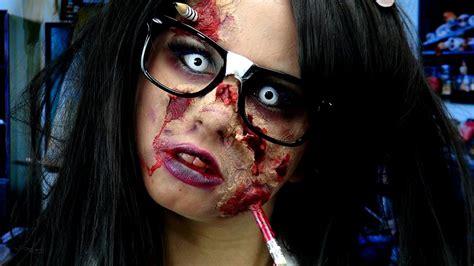 youtube zombie tutorial dead school girl makeup easy vizitmir com