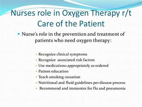 purpose of therapy 02 therapy and patient care number 2