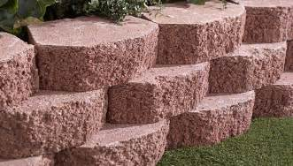 lowes landscape blocks how to build a retaining wall