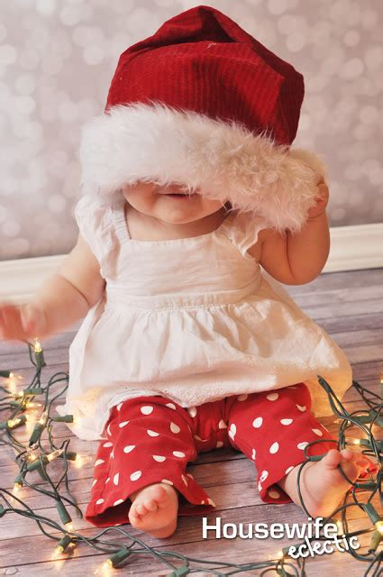 how to take baby frist christmas pictures 10 ways to remember baby s eclectic