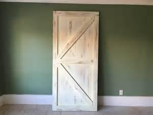 White Barn Door Classic Brace Barn Door Rustic White You Re Unique
