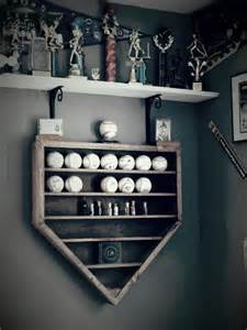 Baseball Home Decor by Baseball Display Shelf Woodworking Projects Amp Plans