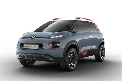 New Citroen by New Citroen C3 Aircross Suv Previewed By Concept Carbuyer