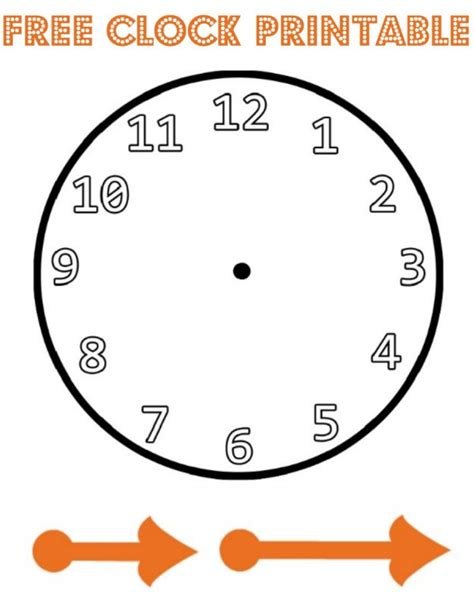 Make A Paper Clock Template - new year paper plate countdown clock in the madhouse