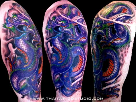 tattoo dragon purple purple dragon tattoo pictures at checkoutmyink com
