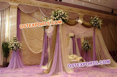 indian wedding drapes nigerian wedding stage lehariya backdrop
