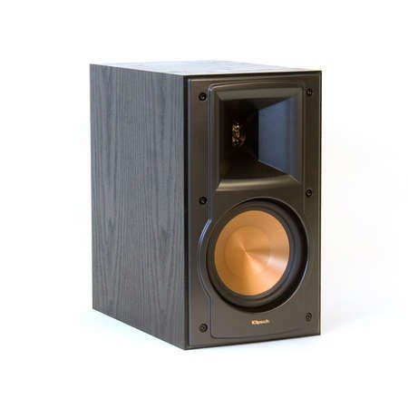 klipsch rb 51 ii black pr 2 way bookshelf speakers