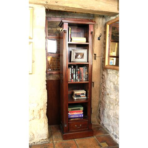 narrow mahogany bookcase la roque narrow alcove bookcase wooden furniture store