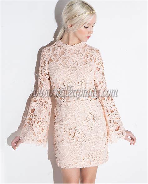 kz ocuklar in dantel elbise modelleri mini uzun kollu dantel elbise sk13371 stilkapinda com