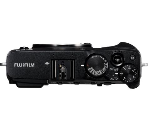 Fujifilm X E3 Black Kamera Mirrorless Kamera Fuji Limited fujifilm x e3 mirrorless black only deals pc world