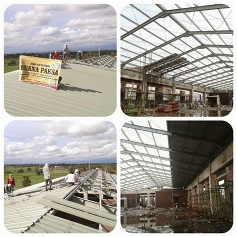 Lu Atap Mobil atap galvalume zincalume harga atap fiberglass the