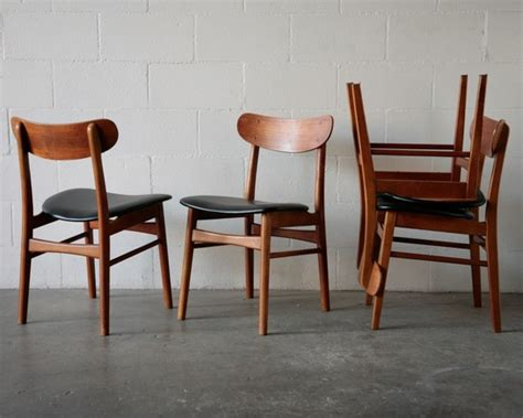 Modern Style Dining Chairs Hans Wegner Style Modern Dining Chairs Amsterdam Modern